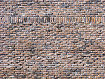 Red Brick Wall with Accents. Royalty Free Stock Image