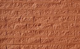 Red brick wall as background Royalty Free Stock Photos