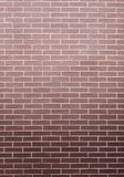 Red brick wall as background or texture Stock Photography