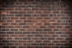 Red brick wall as texture or background. . Architecture. Closeup of brown red brick wall as texture or background. Architectural detail Stock Photos