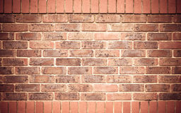 Red brick wall as texture or background. . Royalty Free Stock Images