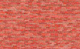 Red brick wall. Asa a background Royalty Free Stock Image