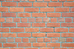 Red Brick Wall Background. Architectural Detail of a Weathered Red Brick Wall Royalty Free Stock Photo
