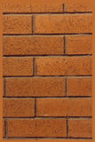 Red brick wall. For background Royalty Free Stock Photography