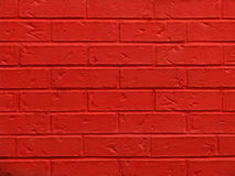 Red Brick Wall Background Stock Images