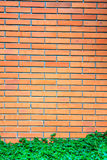 Red brick wall background Stock Photo