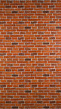 Red brick wall background Royalty Free Stock Images