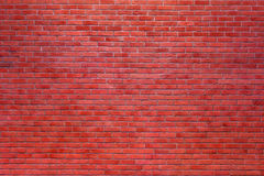 Red brick wall background. Old red brick wall background Royalty Free Stock Photography