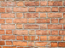Red Brick Wall. Background of old ancient red Brick Wall Stock Photos