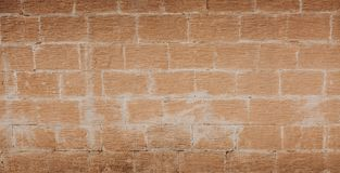 Red brick wall background. Old brick texture. Royalty Free Stock Photos