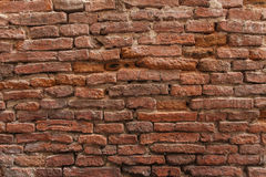 Red brick wall background. Old brick wall pattern Stock Photography