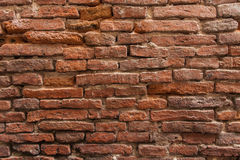 Red brick wall background. Old brick wall pattern Royalty Free Stock Photography