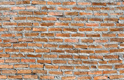Red brick wall background. Old red brick wall texture background Royalty Free Stock Images