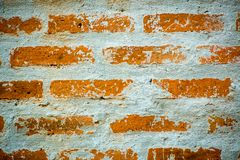 Red brick wall background. Texture pattern for continuous replicate.Grunge red dirty brick wall underground texture.old wall of red and orange bricks for Stock Images
