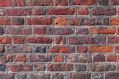 Red brick wall background retro vintage. Red brick wall backgrounds retro vintage Royalty Free Stock Photos
