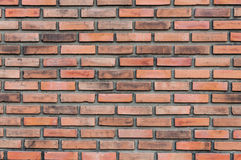 Red brick wall. Background texture Royalty Free Stock Photography
