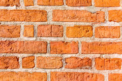 Red brick wall background texture Royalty Free Stock Image