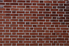 Red brick wall  background - texture pattern Royalty Free Stock Image