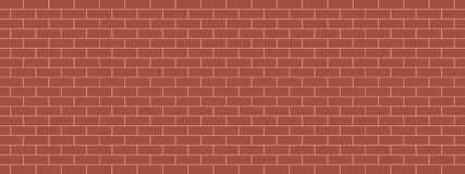 Free Red Brick Wall Background Vector Illustration Pattern Seamless Graphic Design. Royalty Free Stock Photography - 178703607