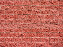 Red brick wall background. Or wallpaper royalty free stock image
