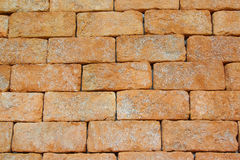 Red brick wall backgrounds Stock Images