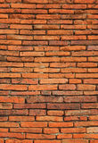 Red brick wall backgrounds Royalty Free Stock Photos