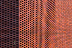 Red brick wall building Royalty Free Stock Images
