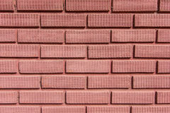 Red brick wall. Can be used for background Royalty Free Stock Images