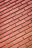 Red brick wall. Can be used for background Stock Photo