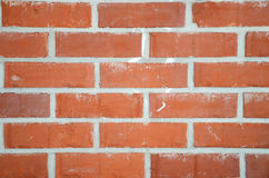 Red brick wall. A close-up of a red brick wall Stock Photo