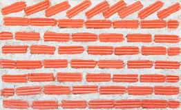 Red brick wall Royalty Free Stock Images