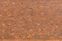 Red brick wall decoration Royalty Free Stock Images