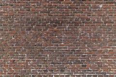 Close up photo of a red brick wall Royalty Free Stock Photos