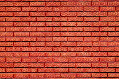 Red brick wall. Flower detail Royalty Free Stock Photo