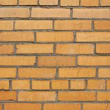 Red brick wall fragment composition Stock Photography