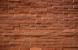 Red brick wall grunge background royalty free stock photo