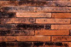 Red brick wall, ideal for a background Stock Image