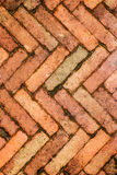 Red brick wall, ideal for a background Royalty Free Stock Photo