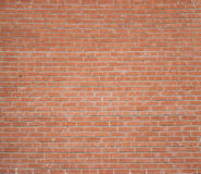 Red brick wall with mortar Stock Image