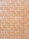 Red brick wall, new brick work Royalty Free Stock Photo