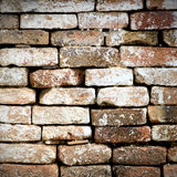 Red brick wall. Old red brick wall background Stock Photo