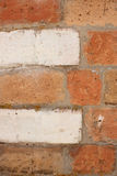 Red brick wall. Old red brick wall texture or background Stock Photo