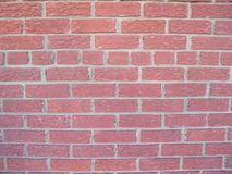 Red brick wall outside 6f royalty free stock images