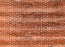 Red brick wall. Pattern of red brick wall Stock Image
