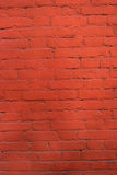 Red brick wall pattern background. Royalty Free Stock Photos