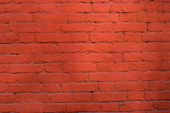 Red brick wall pattern background. Royalty Free Stock Image