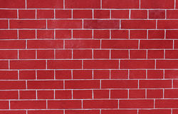 Red Brick Wall Pattern for Background Stock Photos