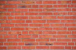 Red brick wall. red background