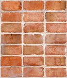 Red Brick Wall, Repeating Tile Royalty Free Stock Photo