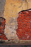 Red brick wall. royalty free stock photos